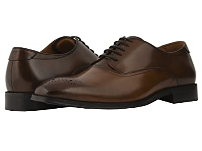 Florsheim Belfast Perf Toe Oxford (Cognac/Brown Smooth) Men
