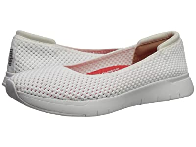 FitFlop Airmesh Ballerinas (Urban White) Women