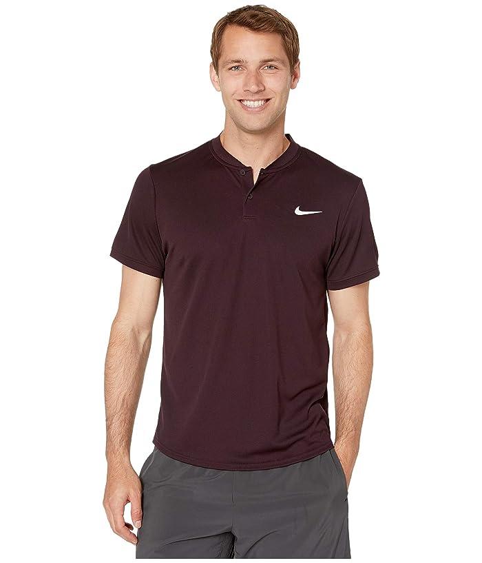 Nike NikeCourt Dry Polo Blade (Burgundy Ash/Burgundy Ash) Men