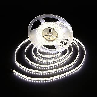 Alilighting 12V 16.4-Feet (5 Meter) IP62 Waterproof LED Strip Lights, 4000K Daylight White
