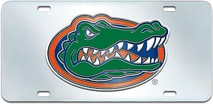 Inlaid FANMATS  14983  NCAA University of Florida Gators Plastic License Plate