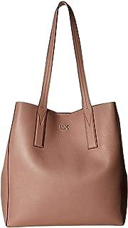 Michael Kors Junie Large Pebble Leather Handbag - Fawn