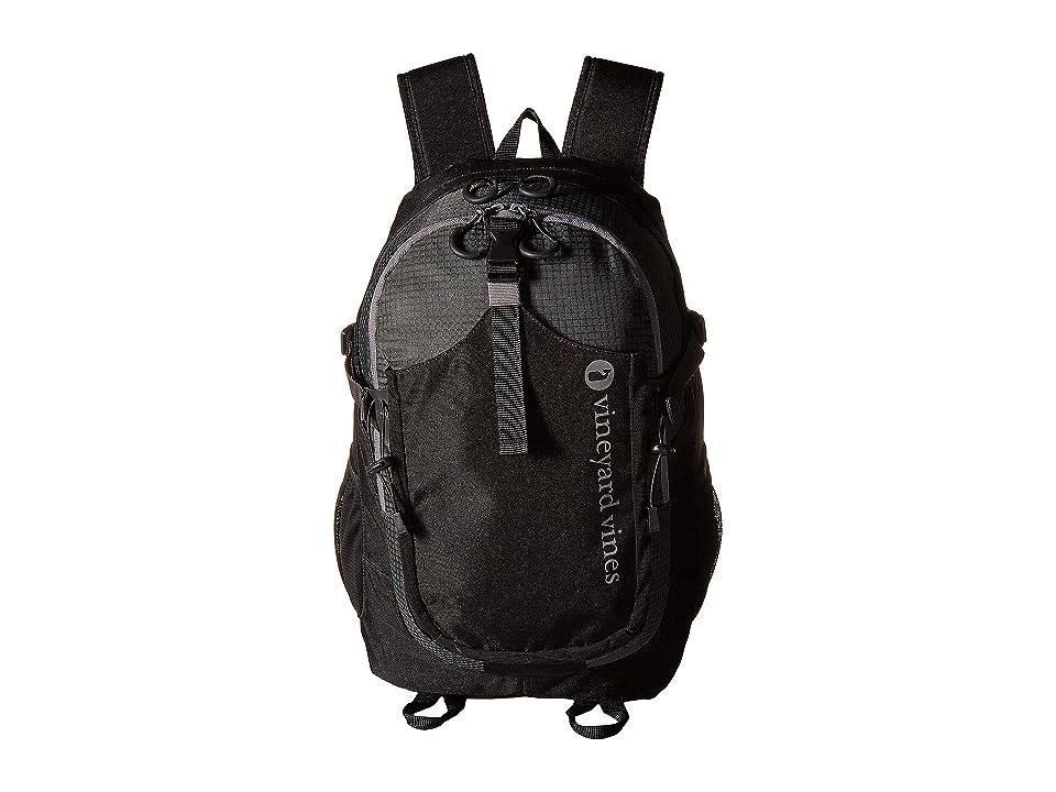 Vineyard Vines Tech Backpack (Jet Black) Backpack Bags