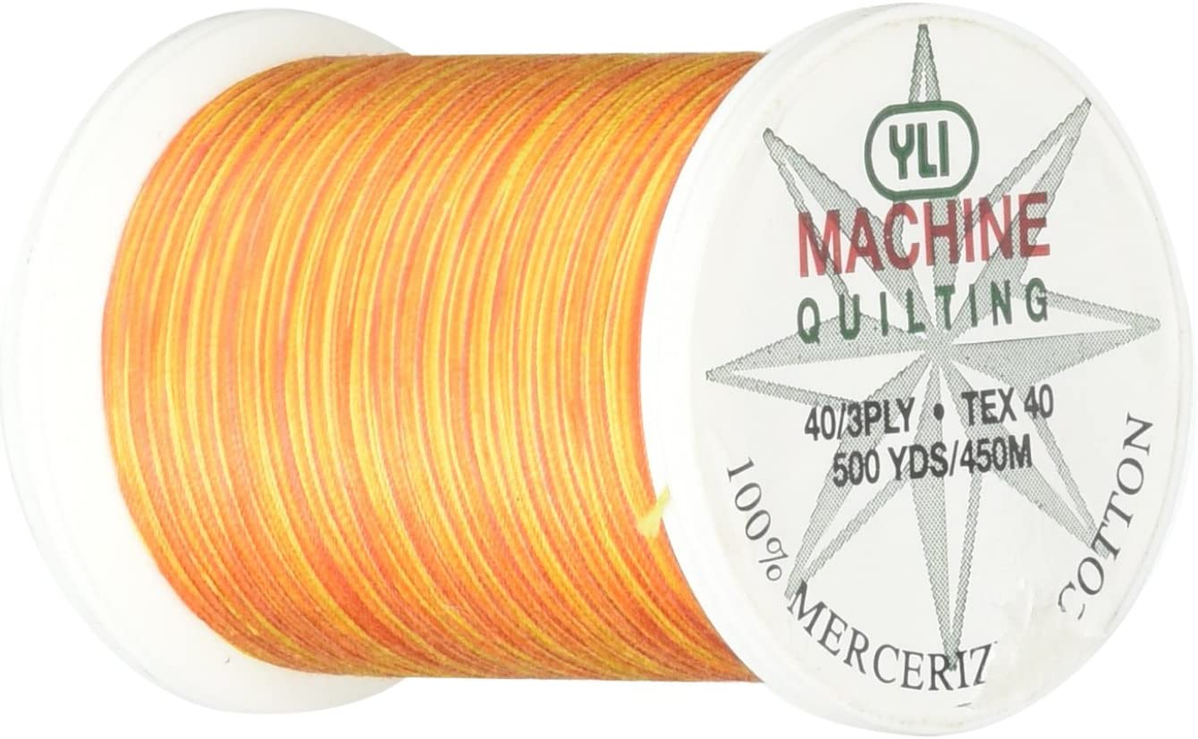 YLI 24450-V75 Ranking TOP9 3-Ply San Francisco Mall 40wt T-40 Quilting Thread Variegated Cotton