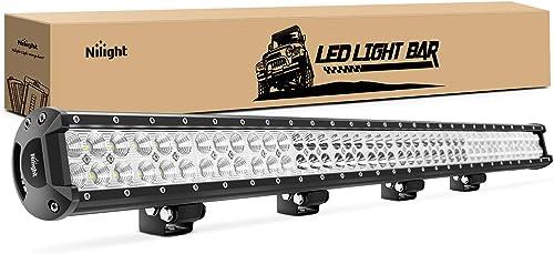 lowest Nilight - online NI06A-252W LED Light Bar LED Work Light Spot popular Flood Combo Led Bar Off Road Lights Driving Lights Led Fog Light sale