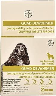 Quad Dewormer (26-60 lbs)