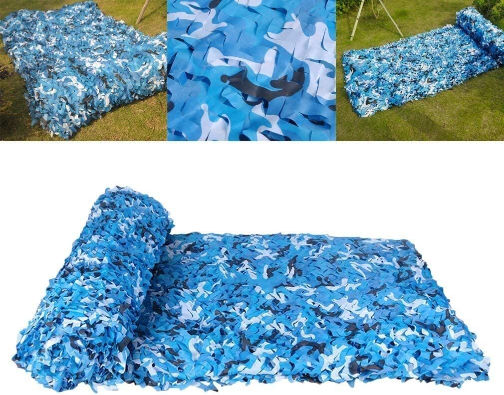 GAOCHAO Blue Easy-to-use Camouflage Net Upg Balcony Terrace Recommended