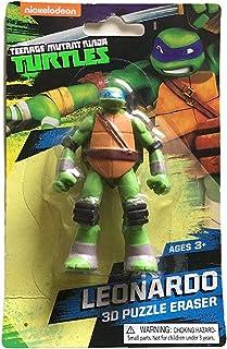 """Teenage Mutant Ninja Turtles 'LEONARDO' 3D Eraser (3.00"""" x 1.75"""" x 0.50"""""""