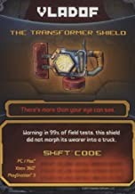 Borderlands 2 The Transformer Shield DLC CARD SHIFT CODES PACK [NO GAME] FOR XBOX 360, PS3, & PC/MAC