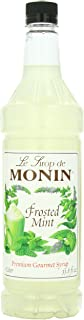 Monin Frosted Mint, 48-Ounce Packages (Pack of 4)