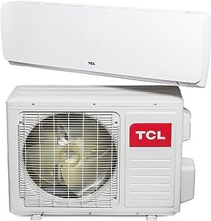 TCL DN 12000BTU Split de Aire Acondicionado a + +, 4m, líneas, Soporte de hasta 15°C, Oro, WiFi, Full 5d de DC Inverter, 1Pieza, Color Blanco, 1025282461