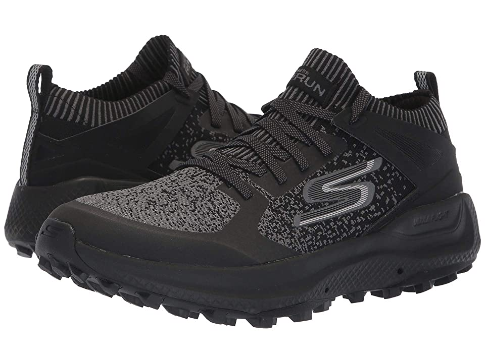 SKECHERS Performance Go Run Max Trail 5 Ultra (Black/Gray) Men