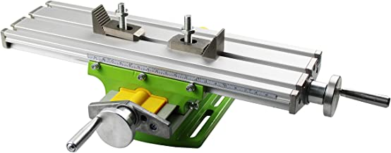 HFS(R) Multifunction Worktable Milling Working Cross Table Milling Machine Compound Drilling Slide Table for Bench Drill A...