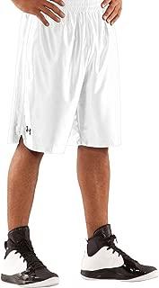 Under Armour Mens Basketball Sports Shorts - White - XXL
