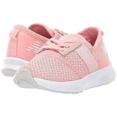 New Balance Kids IPNRGv1 (Infant/Toddler) (White Peach/Munsell White) Girls Shoes