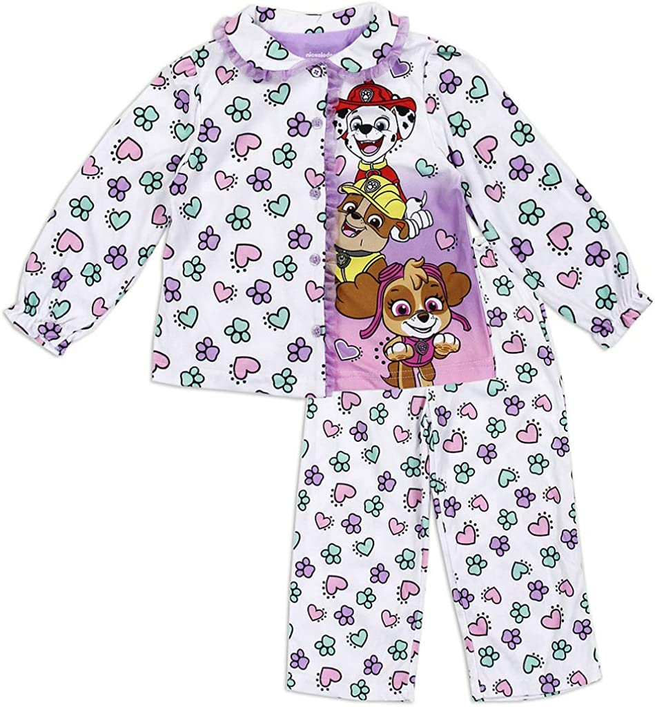 Paw Patrol Little Girls' Toddler Coat Pajamas