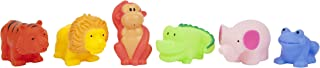 SUNNYLIFE S02SQUJU Set of 6 Bath Squirters Jungle S6, Multi