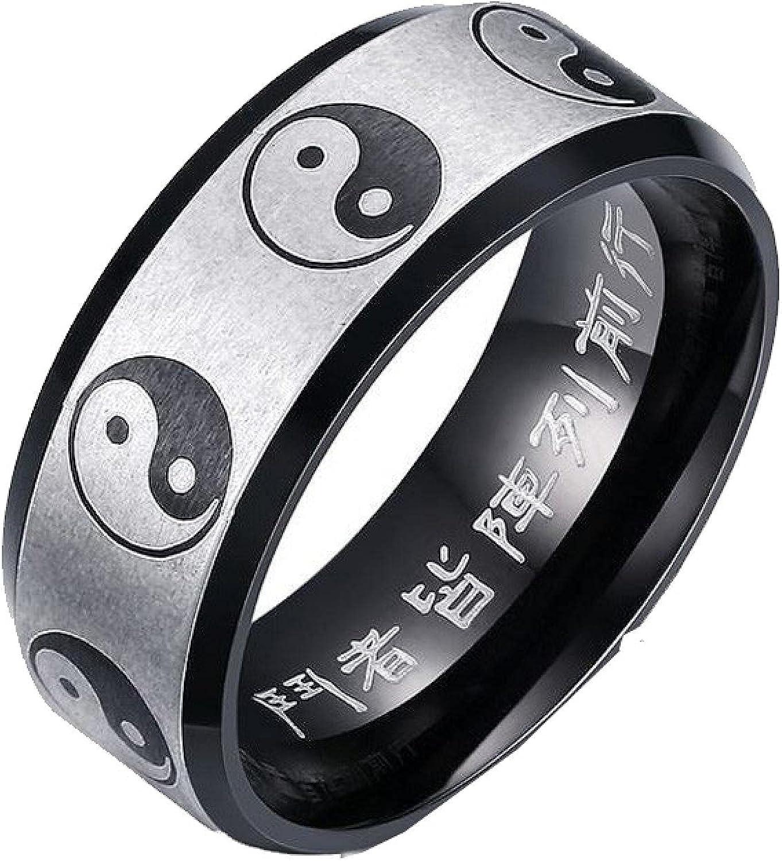 Yin Yang Ring Taoist Zen Spirit Yoga Now free shipping Man Stai Woman Balance Milwaukee Mall