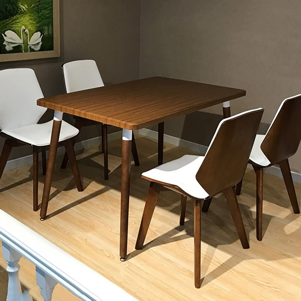 Chambre nordique moderne minimaliste balcon chaise longue Combinaison créative chaise en bois simple balcon café chaise (Couleur : 3) 1