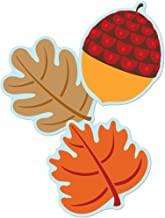 Carson Dellosa – Leaves & Acorns Colorful Cut-Outs, Fall Classroom Décor, 36 Pieces, Assorted Designs