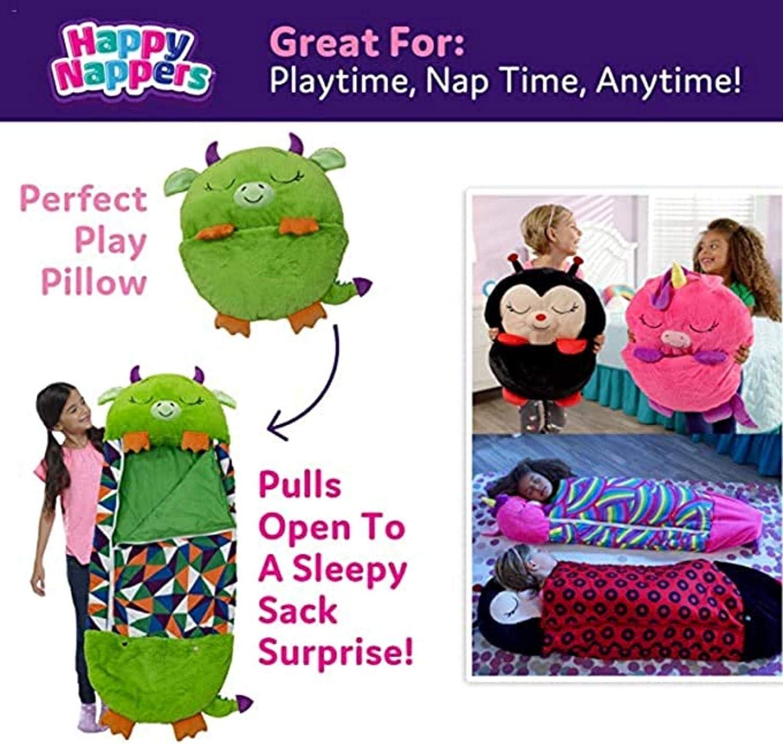 Chat-Rose Sac De Couchage Pliant Coussin De Couette One Piece Blankie Design Couverture Amusante pour Enfants Sac De Couchage Paresseux pour Enfants 139 Cm Stronrive Sac De Couchage pour Enfants