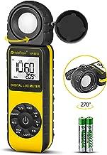 HOLDPEAK HP-881D Digital Illuminance/Light Meter Measure Range 0.01-400,000 Lux (1-40,000..