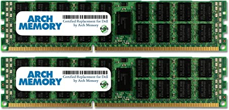 Arch Memory 32 GB (2 x 16 GB) Replacement for Dell SNPMGY5TC/16G A6996789 240-Pin DDR3L RDIMM RAM for PowerEdge R910 Server