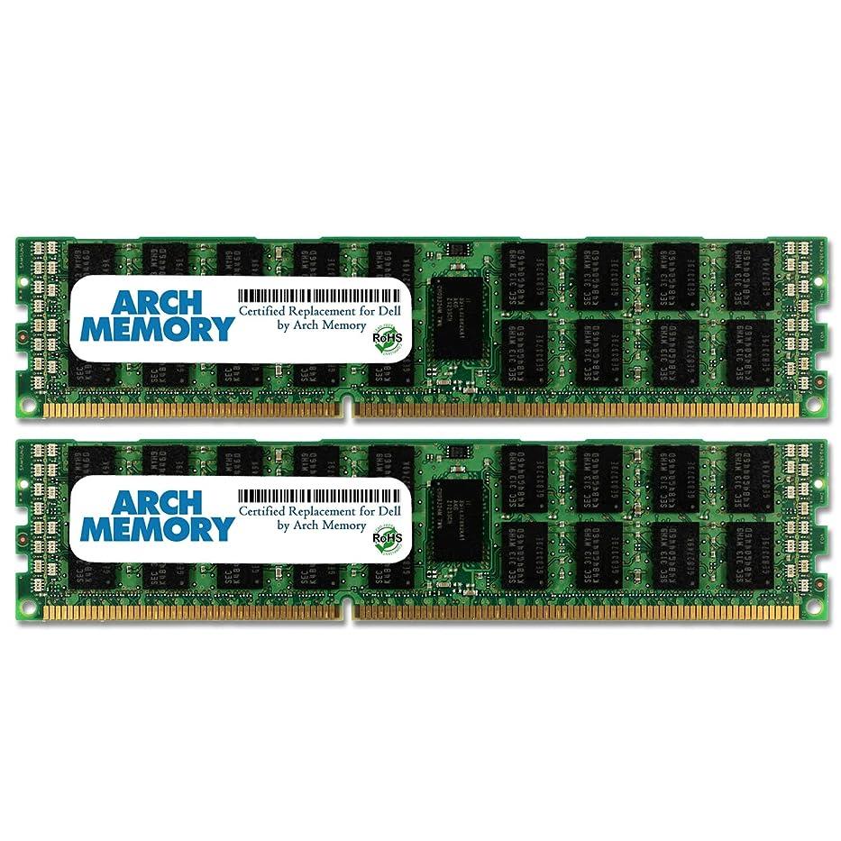 お母さんサイドボード一アーチメモリ認定 Dell 32 GB (2 x 16 GB) 240ピン DDR3L UDIMM RAM パワーエッジ R815 サーバー用