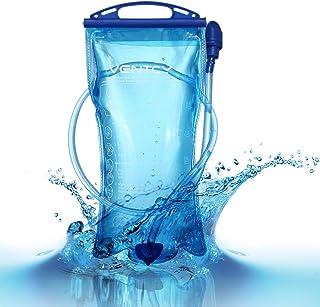 VENTCY vejiga de hidratación 2L/3L Bolsa de Agua de vejiga sin BPA vejiga de hidratación para Mochila de Senderismo Bolsa ...