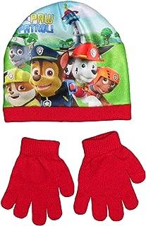 Paw Patrol 2200002442/Skye e amici bambini inverno set include berretto con pon pon cappello guanti e scaldacollo taglia unica
