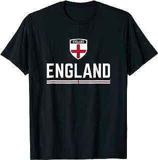 England Soccer Jersey 2019 English Football Team Fan Shirt