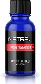 NATRÄL Immune Booster Blend, 100% Pure and Natural Essential Oil, Large 1 Ounce Bottle