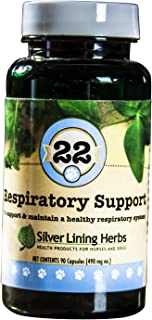 Silver Lining Herbs Respiratory Support | Supports and Maintains a Dogs Lung Function and a Healthy Respiratory System | M...