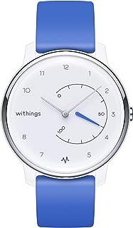 Withings Move ECG – zegarek fitness z monitorowaniem aktywności i snu, funkcja EKG, Connected GPS, wodoszczelny