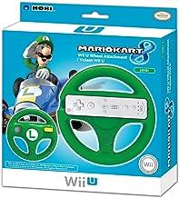HORI Mario Kart 8 Racing Wheel (Luigi) - Nintendo Wii U