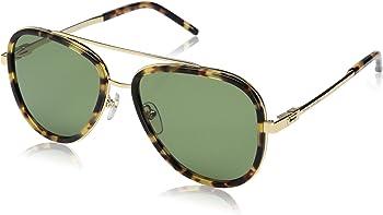 Marc Jacobs Marc136s Spotted Havana Aviator Sunglasses (Green)