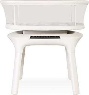 4moms mamaRoo Sleep Bassinet, Bluetooth Baby Bassinets and Furniture with 5 Unique Motions, 4 Built-in White Noise Option...