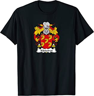 Medeiros Coat of Arms - Family Crest T-Shirt