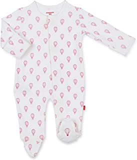 Magnetic Me by Magnificent Baby 100% Organic Cotton Magnetic Footie
