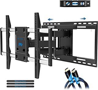 Mounting Dream TV Mount Full Motion with Sliding Design for TV Centering, Articulating TV Wall Mounts TV Bracket for 42-70 Inch TVs - Easy to Install on 16
