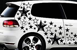 HR WERBEDESIGN 300 Sterne XXXL Set Star Auto Aufkleber Sticker Tuning Shirt Stylin Wandtattoo