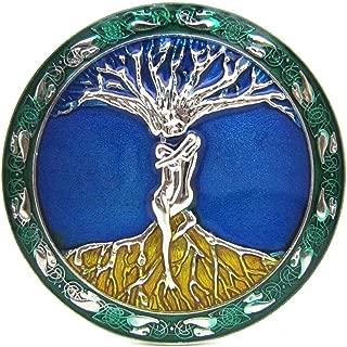 Tree of Life Belt Buckle for Men, Western Belt Buckles, Round Cowboy Belt Buckle for Women