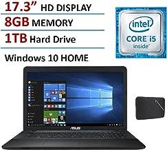 Asus 17 inch High Performance Laptop (2016 Premium Edition), Intel Core i5-5200U Processor up to 2.7GHz, 8GB Ram, 1TB HDD, DVD, WiFi, 17.3
