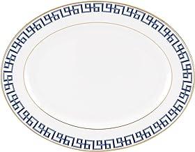 "Lenox 841776 Gluckstein Darius Gold 13"" Oval Platter"