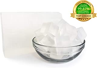 100% ORGANIC ULTRA CLEAR TRANSPARENT GLYCERIN Soap Base by Velona   Melt & Pour all Natural Bar For The Best Result   Size: 2 lb