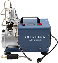 110V Auto-Stop Air Compressor 30MPA 4500PSI 300Bar Electric High Pressure PCP Rifle Refilling Air Pump Water Cooling Airgun