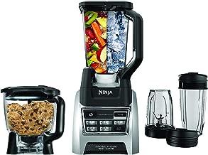 Nutri Ninja Blender Kitchen System, Auto-iQ 1200 Watt 72oz Total Crushing Pitcher and 8-Cup Processor Bowl BL685 (Renewed)