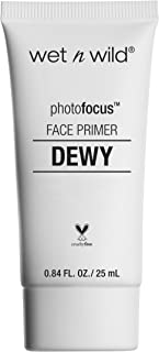 wet n wild Photo Focus Dewy Face Primer, Till Prime Dew us Part, 0.84 Fluid Ounce