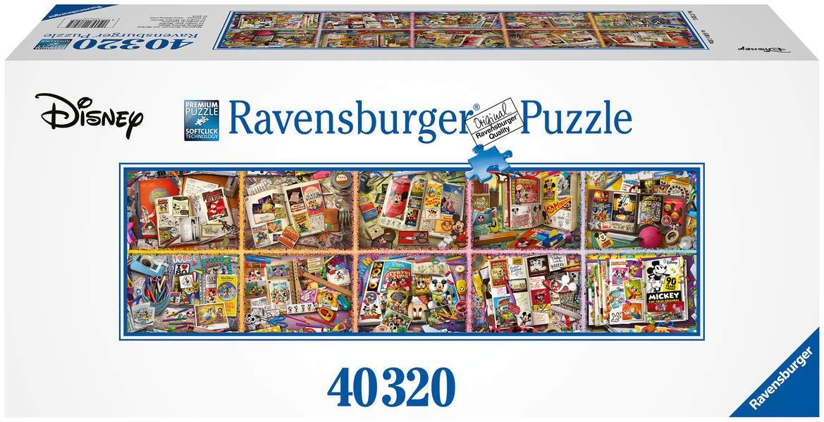 Puzzle Disney 40320 Piezas - El puzzle más grande de Ravensburger