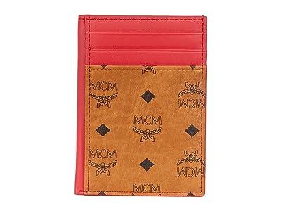 MCM Visetos Original Card Case Mini (Chinese Red) Bags